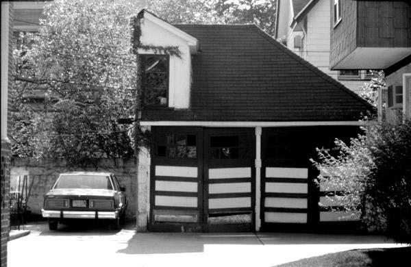 Half a garage
